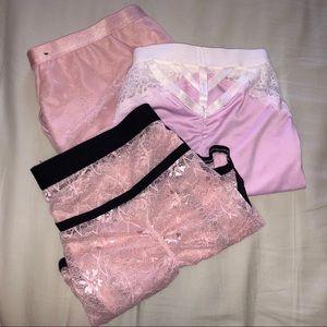 Pink/Nude Bundle (4) Torrid Panties NEVER WORN